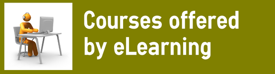 Courses offered by eLearning